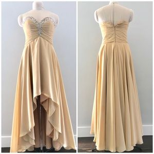 JJ's House Strapless Gown Dress